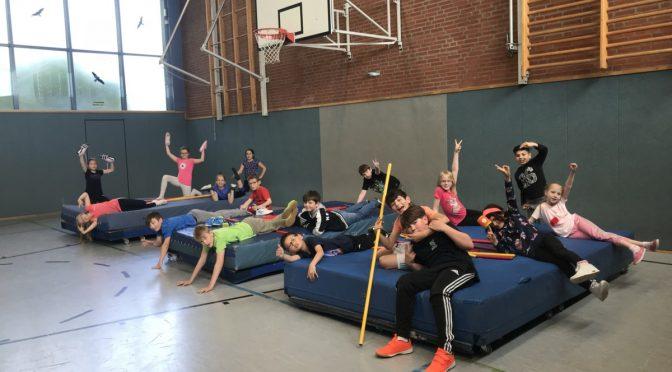 Freitags ist Abenteuersport-Tag an der Grundschule Am Sooren
