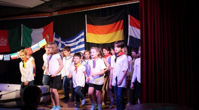 Paule-Puhmanns-Paddelboot Theaterstück der Kl. 3b